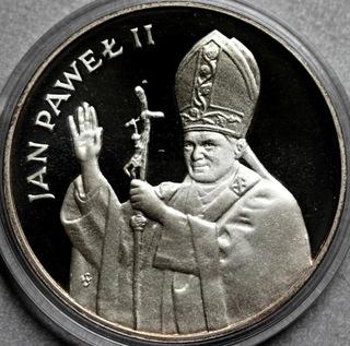 10000zł 1987 Jan Paweł II lustrzany Ag доставка товаров из Польши и Allegro на русском