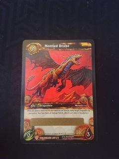 Mottled Drake World of Warcraft TCG UNSCRATCHED доставка товаров из Польши и Allegro на русском