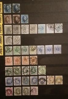 Stare znaczki Belgia - wartościowa kolekcja !!!! доставка товаров из Польши и Allegro на русском