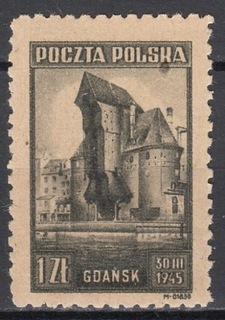 377** y1 oliwkowy, tło jasne, ZL 10 3/4, J.Walocha доставка товаров из Польши и Allegro на русском