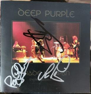 Deep Purple Made in Japan płyta CD z autografami доставка товаров из Польши и Allegro на русском