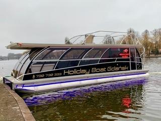STATEK KATAMARAN PASAŻERSKI 47 pas, Party Boat доставка товаров из Польши и Allegro на русском
