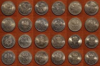 monety okolicznościowe - zestaw  доставка товаров из Польши и Allegro на русском