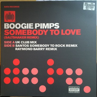 BOOGIE PIMPS - SOMEBODY TO LOVE (RMXS) - 12