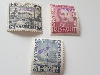 МАНИФЕСТ, 1949 ГОД, Fi. 495 - 497 ** GROSZY  доставка товаров из Польши и Allegro на русском