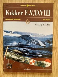 Fokker E.V/D.VIII + kalkomania Kagero доставка товаров из Польши и Allegro на русском