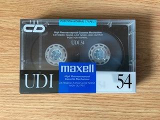 Кассета Maxell UDI 54 - НОС, пленка, JAPAN доставка товаров из Польши и Allegro на русском