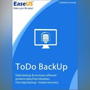 EaseUS Todo Backup Home 12.0 бессрочная лицензия доставка товаров из Польши и Allegro на русском
