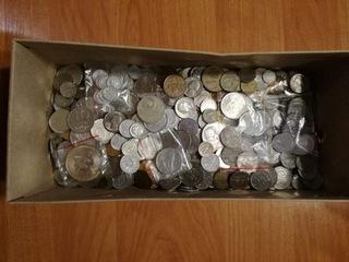 monety PRL + zagraniczne/Do przebrania zestaw доставка товаров из Польши и Allegro на русском