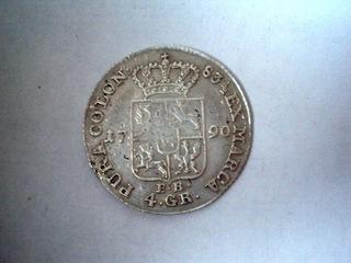 1 ZŁOTY (4 GR) 1790 R -ŁADNY STAN  доставка товаров из Польши и Allegro на русском
