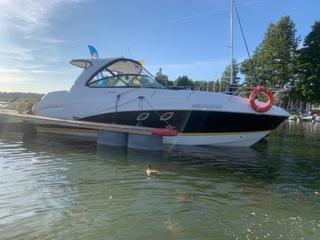 Jacht Motorowy Rinker 320 EX 2018r Cesja Leasingu  доставка товаров из Польши и Allegro на русском