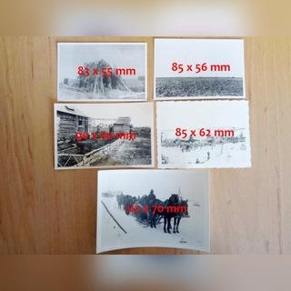 Восточный фронт 1941-1942 фотографии 5 штук ОЧ. доставка товаров из Польши и Allegro на русском