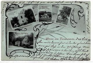 Nowa Bystrzyca (Neuweistritz),1899 rok! доставка товаров из Польши и Allegro на русском