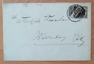 List z Hirschberg (Jelenia Góra), Niemcy 1896 доставка товаров из Польши и Allegro на русском