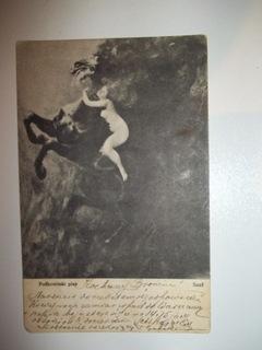 PODKOWIŃSKI SZAŁ POCZTÓWKA  CARTE POSTALE 1902 r. доставка товаров из Польши и Allegro на русском
