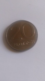 UNIKAT 1A 20ZŁ Z 1988 ORYGINAŁ OKAZJA доставка товаров из Польши и Allegro на русском
