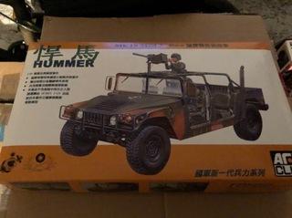 Model do sklejania samochodu Hummer - AFV CLUB доставка товаров из Польши и Allegro на русском