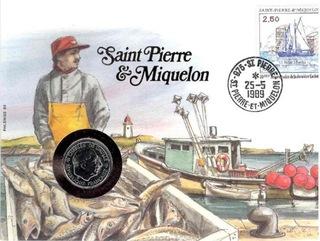 Конверт numizmatyczna Сен-Пьер и Микелон доставка товаров из Польши и Allegro на русском