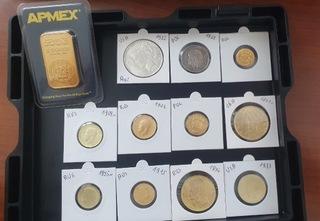 Zestaw róznych monet доставка товаров из Польши и Allegro на русском