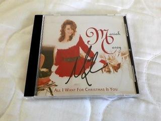 Mariah Carey All I want for Christmas autograf доставка товаров из Польши и Allegro на русском