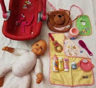 Кукла Chou chou Rock a bye, большой набор доставка товаров из Польши и Allegro на русском