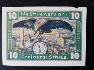 10 pfennig Gustav Becker Freiburg in Schlesien доставка товаров из Польши и Allegro на русском