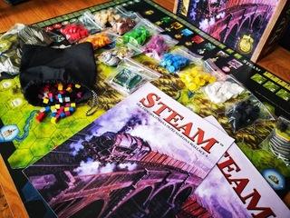 Steam Race to Riches Martin Wallace  доставка товаров из Польши и Allegro на русском