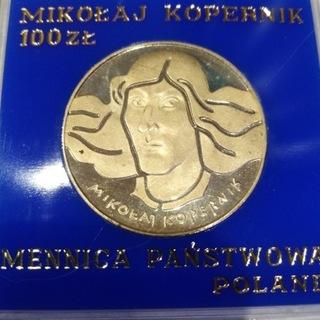 100 ZŁ  MIKOŁAJ KOPERNIK 1974 r MENNICZA доставка товаров из Польши и Allegro на русском