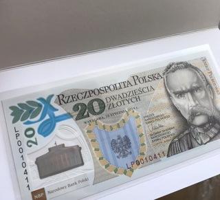20 ZŁ BANKNOT 100 ROCZNICA UTWORZENIA LEGIONÓW доставка товаров из Польши и Allegro на русском
