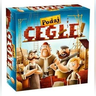 Podaj cegłę! gra ekonomiczna, planszowa, NOWA доставка товаров из Польши и Allegro на русском