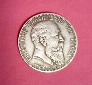 5 marek 1907 Baden śmierć księcia Friedricha доставка товаров из Польши и Allegro на русском