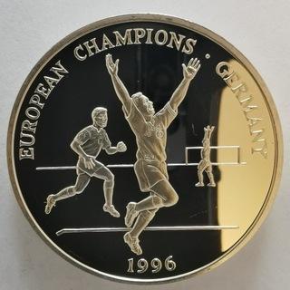 Medal 1996 Royal Mint Mistrz Europy 1oz Srebro    доставка товаров из Польши и Allegro на русском