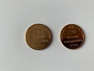 Monety zastępcze - 20 denarów gnieźnieńskich.PRÓBA доставка товаров из Польши и Allegro на русском