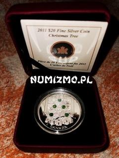 Choinka świąteczna silver coin Swarovski cristals доставка товаров из Польши и Allegro на русском