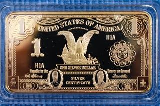 Dollar USA sztabka replika доставка товаров из Польши и Allegro на русском