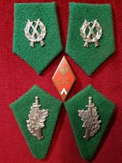 Patki WOP wz. 1952 (2 komplety) + odznaka WOP доставка товаров из Польши и Allegro на русском