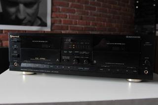Магнитофон стерео double deck Sherwood DD 4010 C доставка товаров из Польши и Allegro на русском