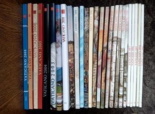 Ватикан 1983-2008 в марочных книгах доставка товаров из Польши и Allegro на русском