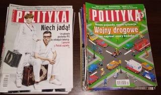 Tygodnik Polityka (VIII 2017 - V 2018) доставка товаров из Польши и Allegro на русском