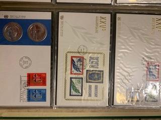 Открытки ООН, коллекция 60szt. лет 60, коллекция доставка товаров из Польши и Allegro на русском