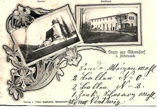 Szklarnia (Glasendorf), 1902 rok! доставка товаров из Польши и Allegro на русском