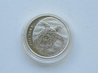 Fiji - 2 $ 2013,  Żółw ,  1 uncja Ag доставка товаров из Польши и Allegro на русском