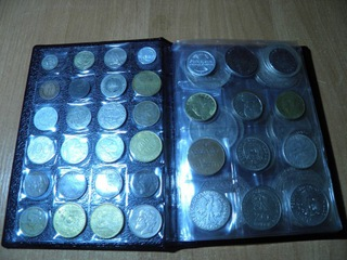 Klaser z monetami ZESTAW Sprawdź WARTO !!! доставка товаров из Польши и Allegro на русском