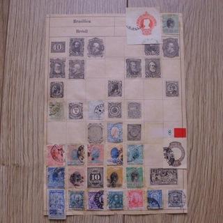 Бразилия - марки из иллюстрированного альбома  доставка товаров из Польши и Allegro на русском