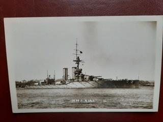 HMS AJAX brytyjski pancernik I WŚ  доставка товаров из Польши и Allegro на русском
