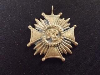 Бронзовый крест за заслуги Virtuti Militari RrząDÓWKA  доставка товаров из Польши и Allegro на русском