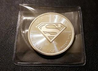 1oz Superman Kanada 2016, srebro 9999, mennicza! доставка товаров из Польши и Allegro на русском