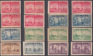 Fi. 380-385** Набор чистых gw.+описание J. Walocha доставка товаров из Польши и Allegro на русском
