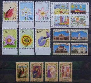 Zbiór czystych znaczków tematycznych w seriach 2 доставка товаров из Польши и Allegro на русском
