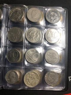 Kolekcja ponad 80 monet доставка товаров из Польши и Allegro на русском